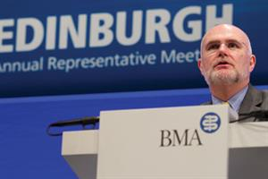 'Doctors are angry,' says BMA chairman