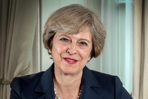 Prime minister Theresa May 'proud' of government record on NHS