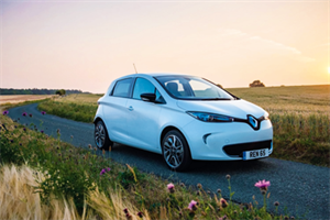 Car review - An electric future with the Renault Zoe