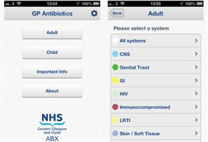 App review - GP Antibiotics