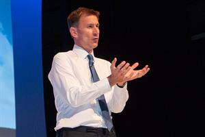 Video: Jeremy Hunt's full RCGP conference speech