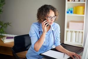 GP training: Conducting a telephone consultation