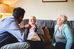 GP training: Undertaking a home visit