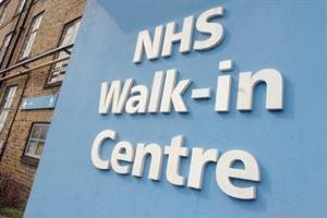 Will walk-in centres be axed?