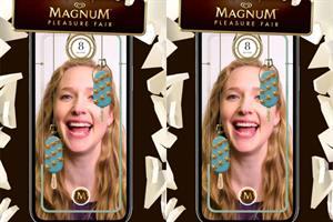 """Magnum """"Magnum pleasure fair"""" by MullenLowe Profero and MediaMonks"""