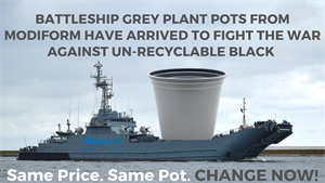 Modiform says no to black plastic pots