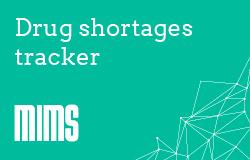 Drug shortages - live tracker