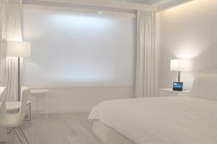 Is this the hotel room of the future?