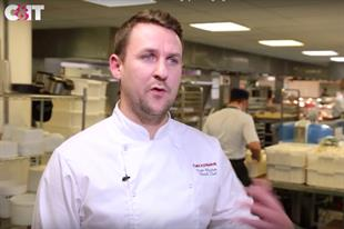 Twickenham chef serves up dessert in England rugby team's changing rooms