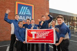 Corporate partnerships: Aldi more than halfway to total for cancer trust