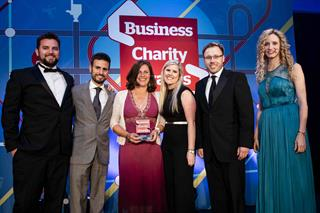 GSK wins the top prize at the Business Charity Awards
