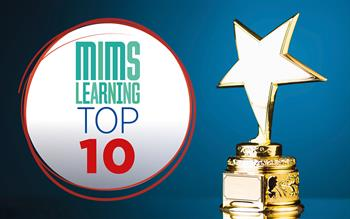 Which topics were most popular with primary care professionals on MIMS Learning this year?
