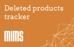 Deleted products - live tracker