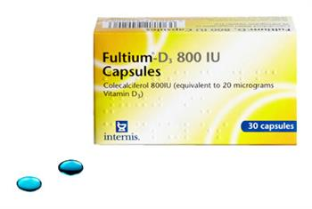 Fultium vitamin D3 capsules licensed in pregnancy