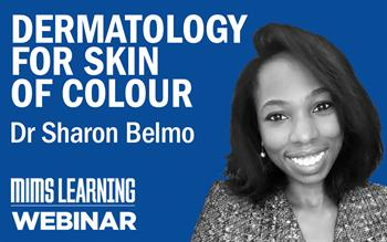 Join a MIMS Learning webinar on dermatology for skin of colour