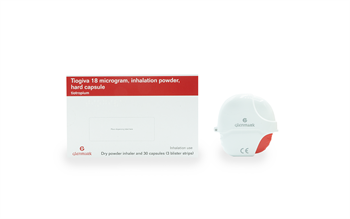 Third tiotropium inhaler adds to treatment options for COPD patients
