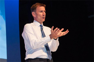 Health secretary Jeremy Hunt to speak at RCGP Annual Conference 2017