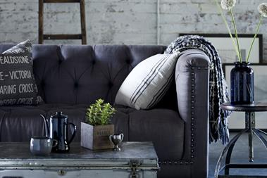 DFS showcases sofa collection with 'dinner party'