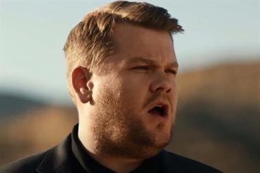A letter to James Corden: it's time to get off the gravy train