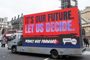 Time for this industry to take action on a People's Vote