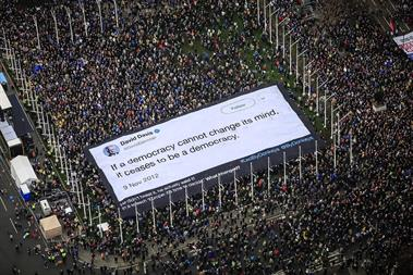 Lessons from the ads that captured the People's Vote march