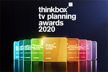 Thinkbox TV Planning Awards 2020: The results