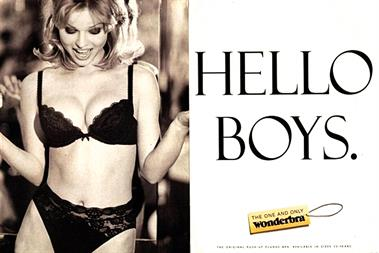 Best ads in 50 years: Wonderbra obeyed all the rules of a great poster