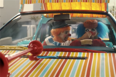 """BBH's """"Clowns"""" for Audi drives off with Thinkboxes Award"""