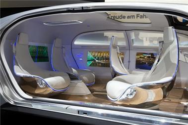 Dentsu eyes driverless cars as important advertising medium