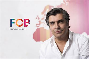 FCB names chief creative as new international CEO