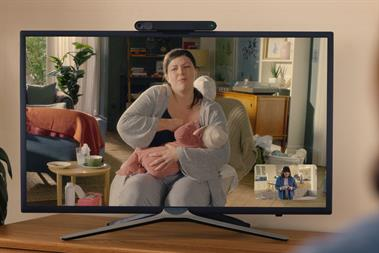 """Facebook Portal """"Rugby hold"""" by TBWA\London"""