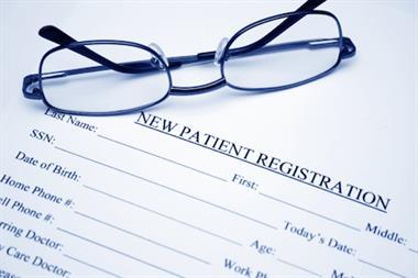 CQC Essentials: Patient registration