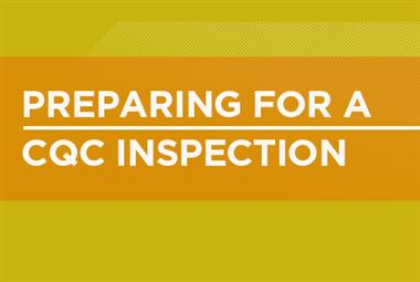 Preparing for a CQC inspection