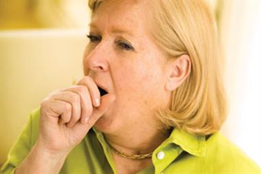 Red flag symptoms: Persistent cough