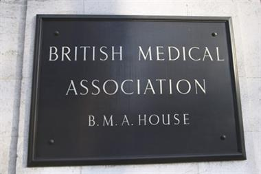 BMA releases sample pensions ballot paper