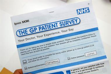 Patient access survey scores fall slightly in 2009/10