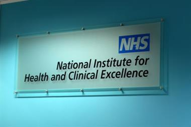 NICE group backs health rewards