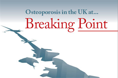 Osteoporosis in the UK... at Breaking Point - Promotional feature
