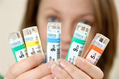 BMA backs withdrawal of NHS homeopathy funding