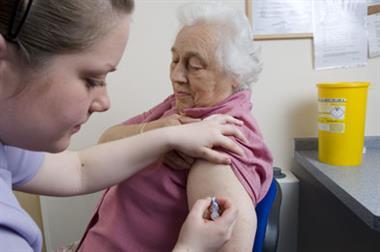 Scottish GPs hit 75% uptake target for flu jabs