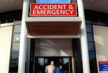 GP-led hospital triage system frees up three A&E doctors per day