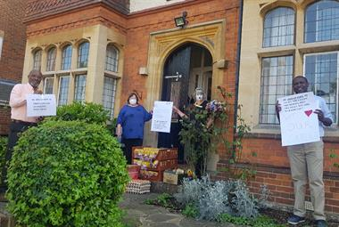 Hertfordshire GP group delivers food parcels to local care home staff