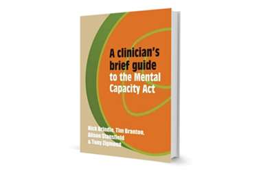 Book review - A brief guide to the Mental Capacity Act