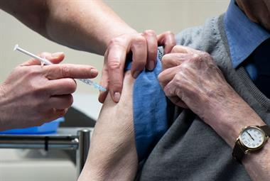 Areas hit hardest by COVID-19 fall behind on vaccine campaign