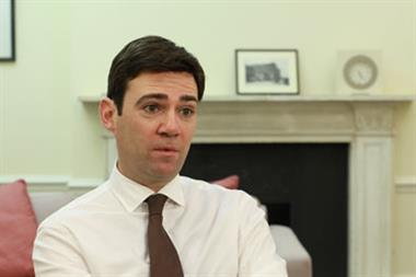 Andy Burnham now Labour's shadow health secretary in Cabinet reshuffle