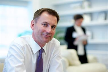 Hunt A&E row prompts call for politicians to lead by example