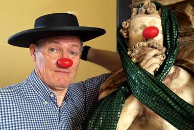 Dr David Wheeler  interview: The GP clown