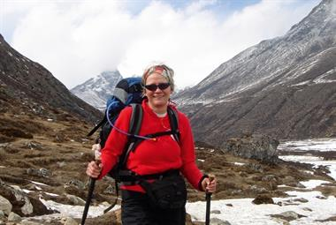 Dr Jenny Langdon: Trekking for heart health