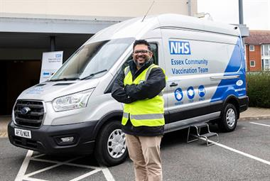 Essex GPs deliver COVID-19 jabs from custom-built van to boost uptake