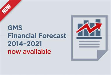 Free GMS Financial Forecast for all GP practices - in July only